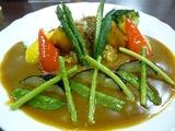 白川の 夏野菜カレー