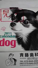 斉藤歯科のカレンダー  1