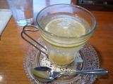 RIZZA CAFE の ゆずホットワインティー