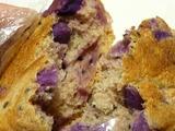 紫芋のカンパーニュ
