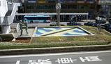 枚方市駅 駅前の花壇 リニューアル!