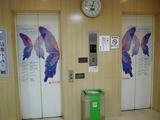 さんぷら座のエレベーター・2F