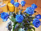 待合室のお花