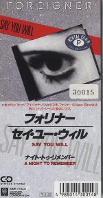 Say You Will / セイ・ユー・ウ...