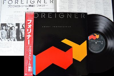Foreigner-Agent-Provocateur-P13060-Jap-ROCKSTUFF-Vinyl