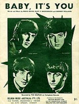 160px-Baby_Its_You_sheet_music