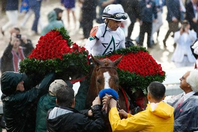 Justify-Mike-Smith-Derby-Roses-