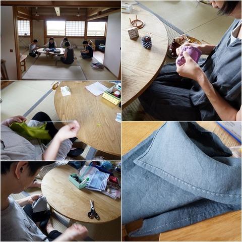 手縫いワークショップ組み合わせ1