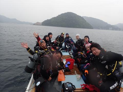 淡島へGO