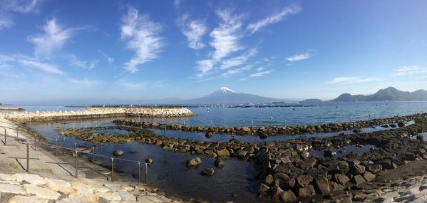 今朝の平沢ビーチ