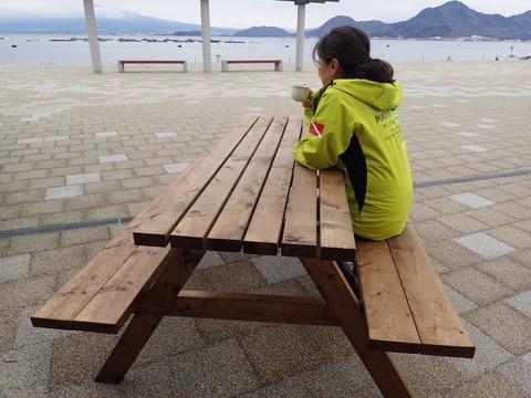 ガーデンテーブル@平沢マリンセンター