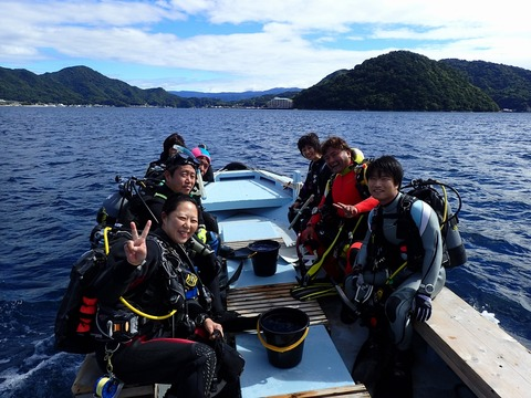 淡島ボートへGO