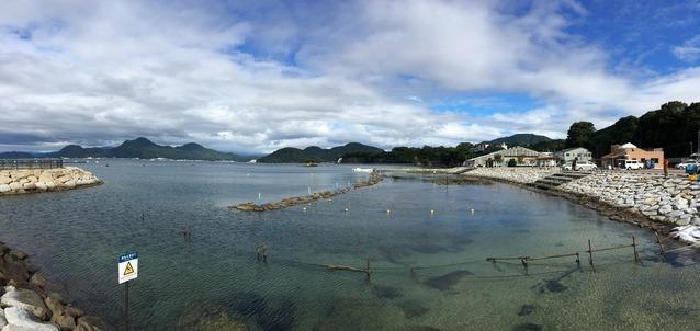 お天気回復@平沢ビーチ
