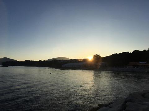 初日の出@らららサンビーチ