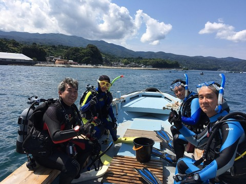淡島ボートポイントへGO (1)