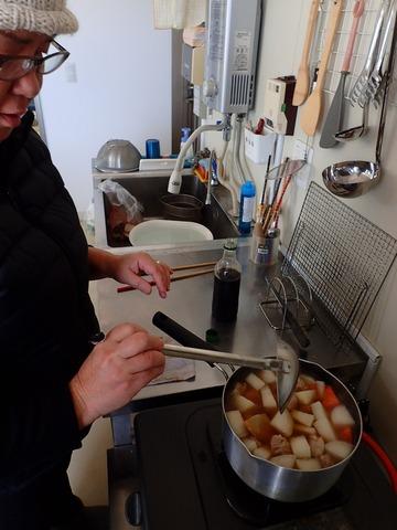 大川姉さんのお雑煮