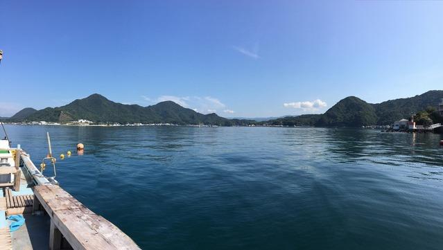 今日も淡島は穏やか