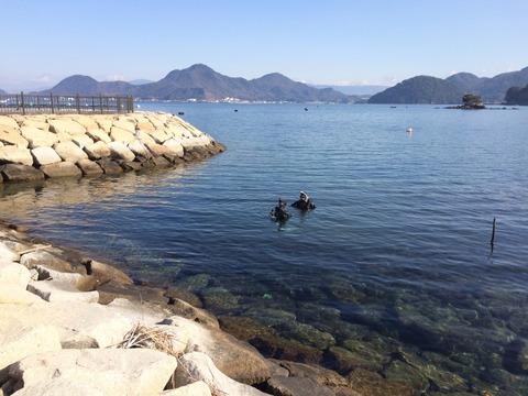 平沢ビーチは限定水域にもバッチリ