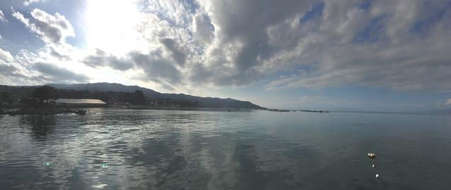 今日の平沢ビーチ (2)