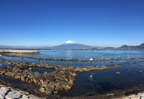 良い凪でした@平沢ビーチ