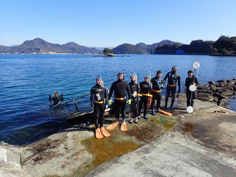 海洋生物リサーチ隊@平沢ビーチ (1)