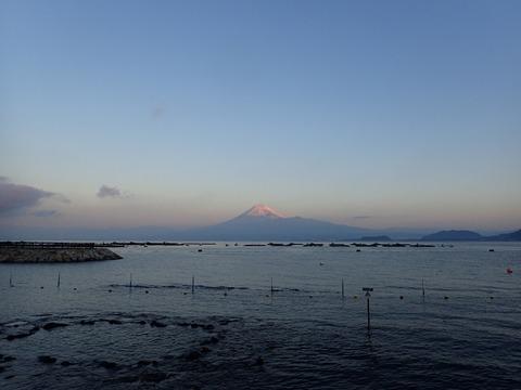 初富士山@平沢ビーチ