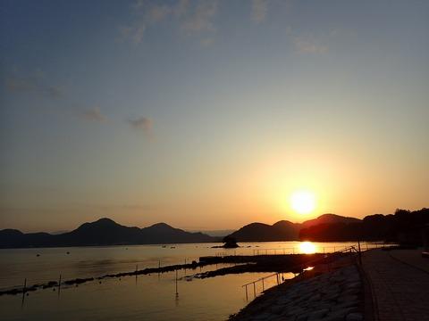 平沢ビーチ・1日のスタート
