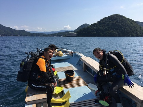 淡島ボートポイントへGO (2)