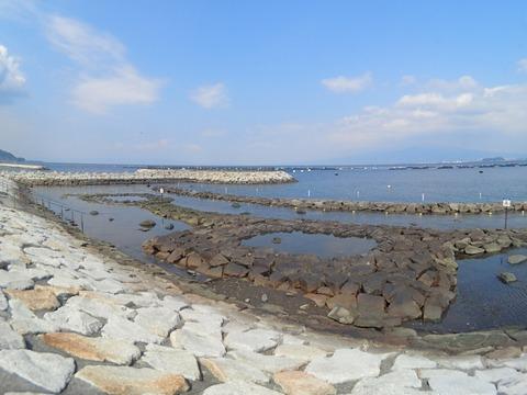 穏やかな今日の平沢ビーチ