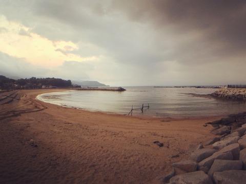 クリーンアップ後のらららサンビーチ