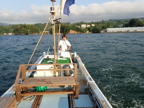山ちゃんボート操船特訓