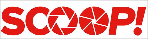 「SCOOP!」ロゴ2