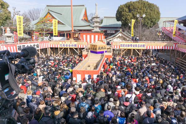 成田山不動尊-節分祭-9