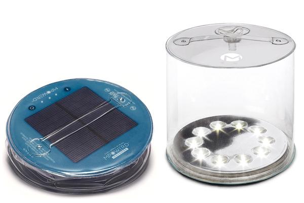 太陽光発電LEDエアーランタン