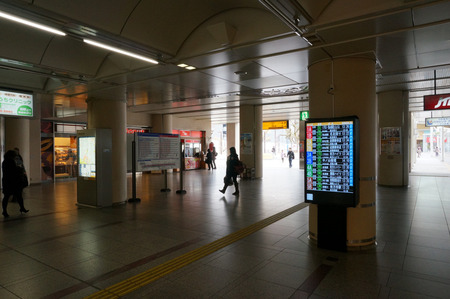 樟葉駅バスモニター130129-23