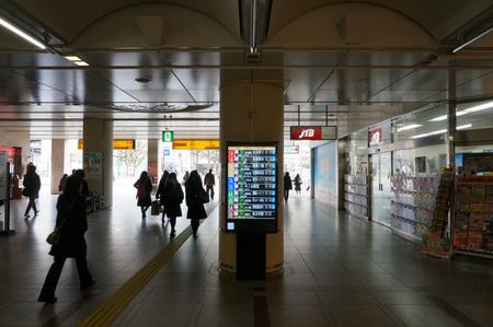 樟葉駅バスモニター130129-03