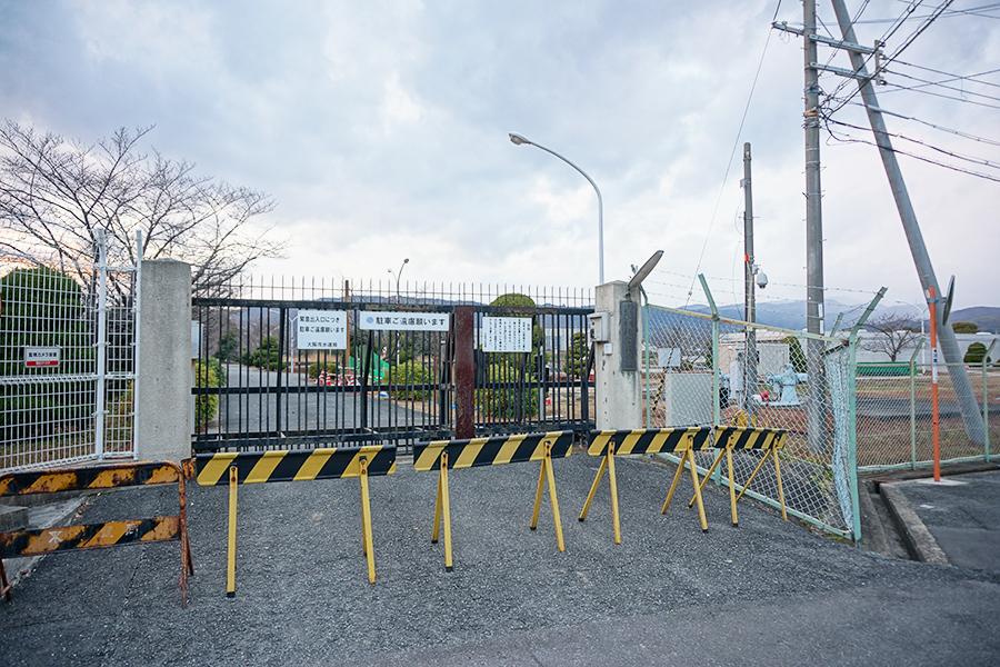 楠葉取水場
