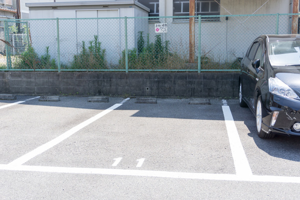 きれいな歯クリニックさくら 駐車場-1