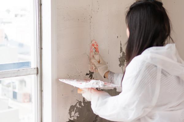 ひらばDIY漆喰塗り体験-52