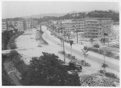 香里団地の建設
