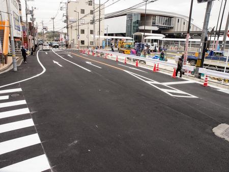 長尾駅前道路-1403255