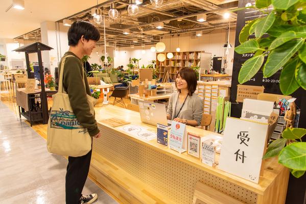大阪・枚方市のコワーキングスペース ビィーゴのドロップイン受付