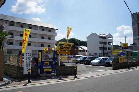 ビオルネ裏駐車場20120817134805