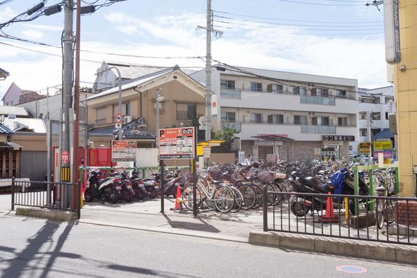 枚方市駅駐輪場-16101714