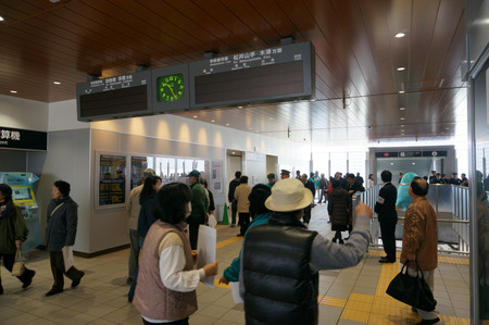長尾駅内覧会130202-57