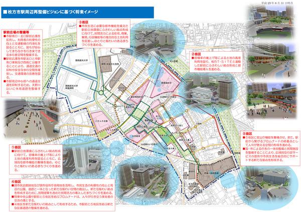 枚方市駅将来イメージ