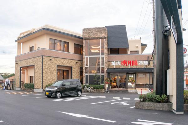 1号線ぞい宮之阪の焼肉店「明月館 枚方店」がリニューアルオープンしてる
