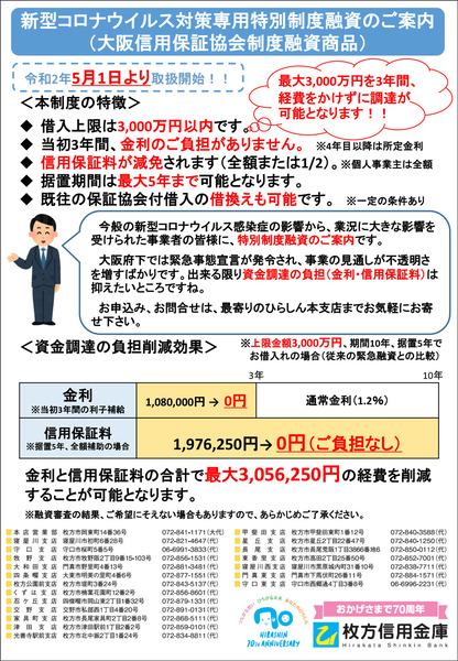 特別制度融資チラシ-DM
