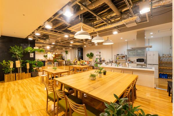 大阪・枚方市のコワーキングスペース ビィーゴの料理教室にオススメのキッチンスペース