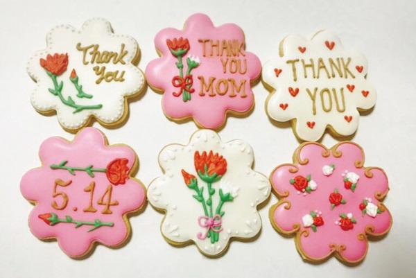 母の日_アイシングクッキー
